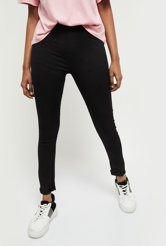 MAX Solid Elasticated Jeggings
