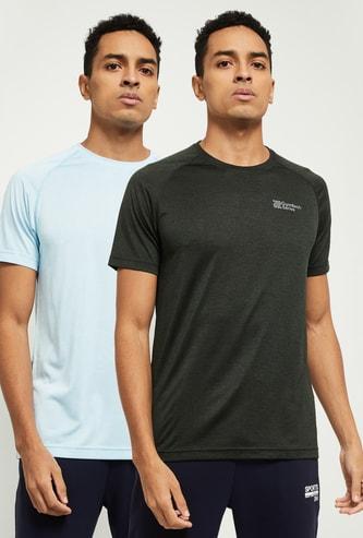 MAX Solid Crew Neck T-shirt - Set of 2