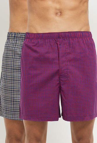 MAX Checked Boxers - Pack of 2