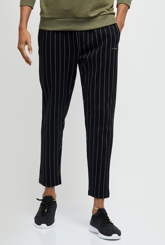 MAX Striped Full-Length Track Pants