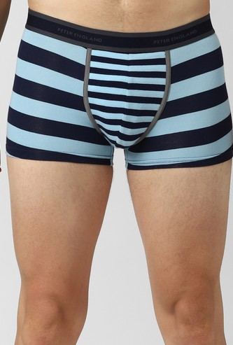 PETER ENGLAND Striped Elaticated Trunks