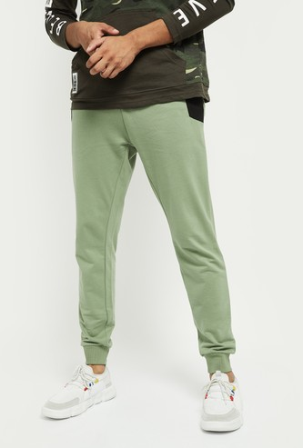 MAX Solid Skinny Fit Joggers