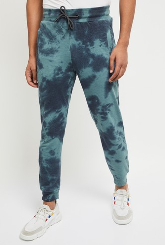 MAX Tie and Dye Elasticated Joggers