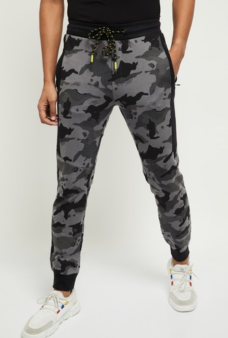 MAX Men Camouflage Printed Joggers