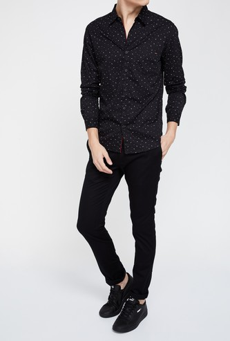 BLACKBERRYS CASUAL Solid Low Rise Slim Fit Chinos