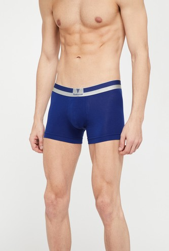 VAN HEUSEN Platinum Solid Pima Cotton Trunks