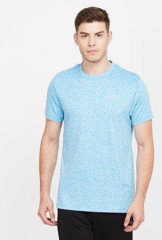 KAPPA Solid Regular Fit Crew-Neck Hydroway T-shirt