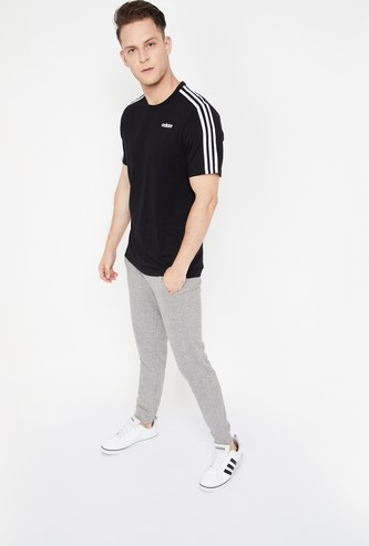 ADIDAS E 3s Crew-Neck Regular Fit T-shirt
