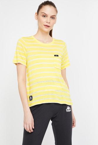 KAPPA Striped Lightweight Regular Fit T-shirt