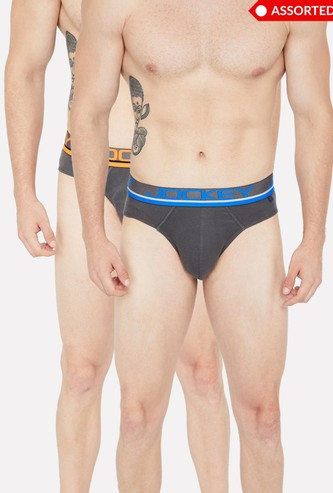 JOCKEY Combed Cotton Panelled Trunks - Pack of 2 Pcs.