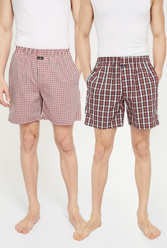 JOCKEY Checked Boxers - ASSORTED Colour & Design