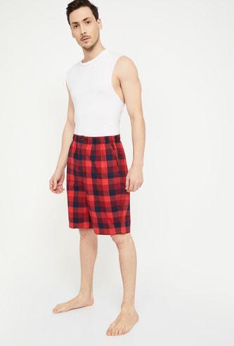 JOCKEY Checked Shorts