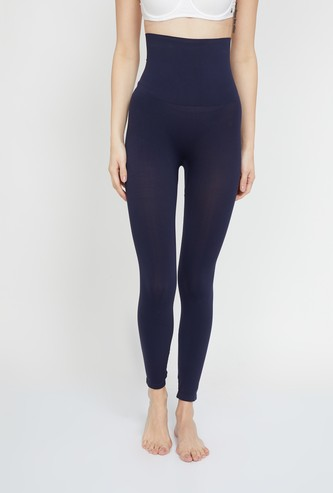 GINGER Solid Shapewear Tights