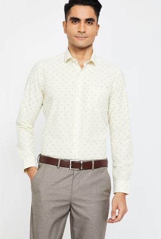 CODE Striped Slim Fit Formal Shirt