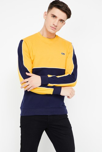 UCLA Colourblock Regular Fit Sweatshirt