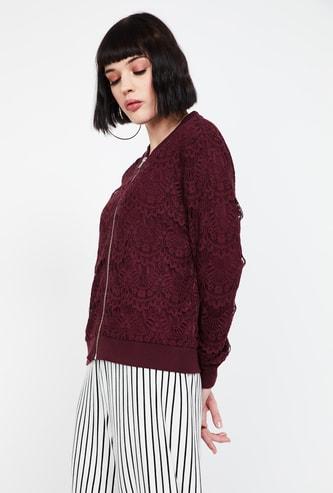 BOSSINI Floral Lace Regular Fit Jacket