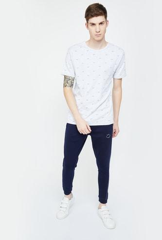 UCLA Typographic Print Short Sleeves Regular Fit T-shirt