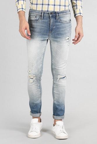GAP Men Distressed Skinny Fit Jeans