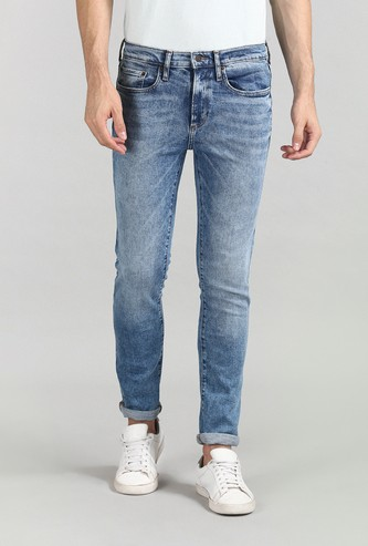 GAP Men Dark Washed Skinny Jeans