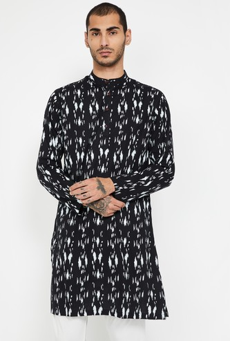 MELANGE Printed Regular Fit Kurta