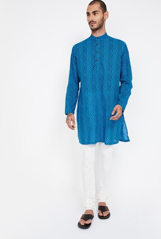 MELANGE Printed Full Sleeves Kurta