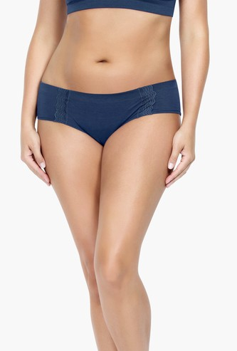 PARFAIT Hipster Panties with Lace Inserts
