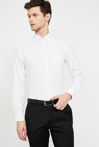 CODE Checked Slim Fit Formal Shirt