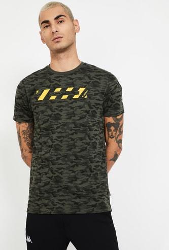KAPPA Camouflage Print Regular Fit T-shirt