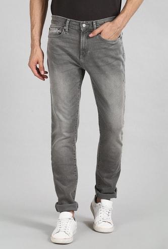 GAP Men Dark Washed Slim Straight Jeans