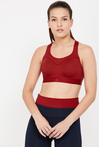 ADIDAS Stay for it Climalite Racerback Sports Bra