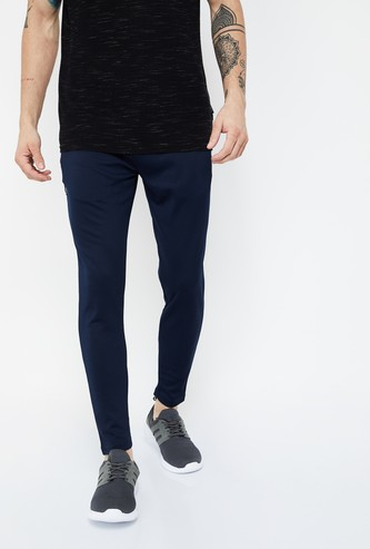 KAPPA Solid Slim Fit Track Pants