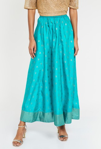 AURELIA Printed Maxi Skirt
