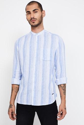BOSSINI Striped Slim Fit Casual Shirt
