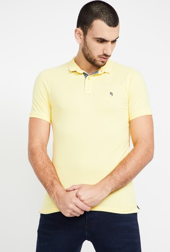 KILLER Solid Slim Fit Polo T-shirt