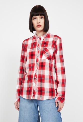 LEE COOPER Checked Full Sleeves Shirt