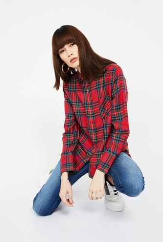 LEE COOPER Checked Regular Fit Casual Shirt