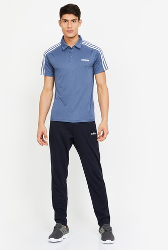 ADIDAS Textured Short Sleeves Regular Fit Polo T-shirt