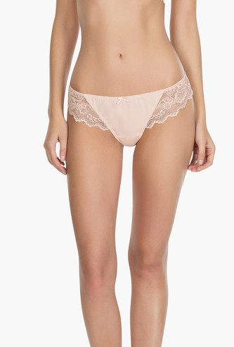 PARFAIT Lace Detailed Bikini Panties