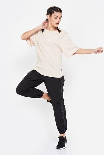REEBOK Printed Regular Fit T-shirt
