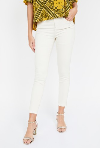 VERO MODA Solid Regular Fit Jeans