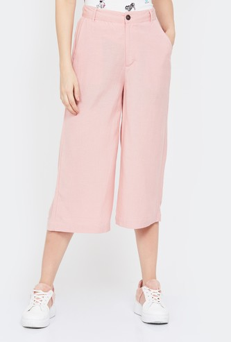 BOSSINI Solid Elasticated Culottes