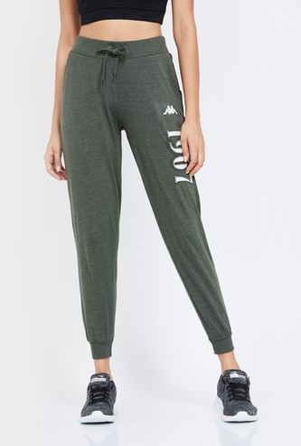 KAPPA Typographic Print Elasticated Lightweight Joggers