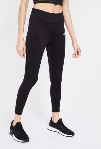 KAPPA Solid Hydroway Lightweight Cropped Skinny Tights