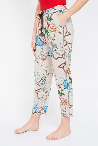 GINGER Floral Print Lounge Pants