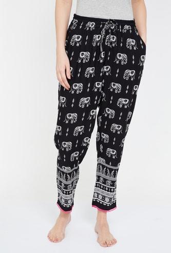 GINGER Printed Pyjamas with Side Pockets