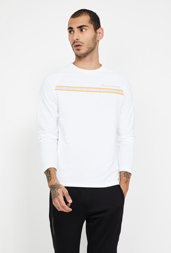 KAPPA Striped Crew Neck Regular Fit T-shirt