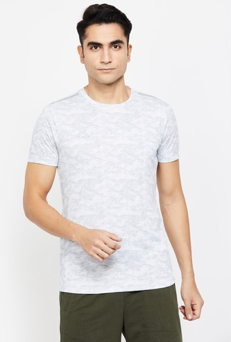 KAPPA Hydroway Printed Slim Fit T-shirt