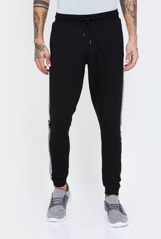 KAPPA Solid Slim Fit Joggers