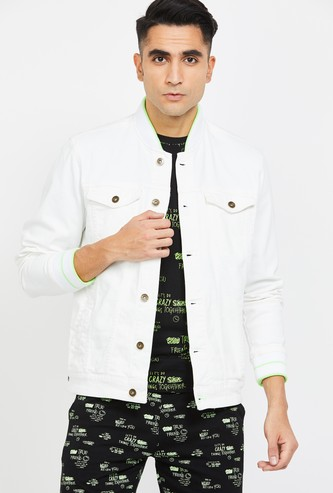 UCLA Solid Denim Jacket