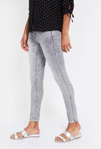 LEE COOPER Acid Washed Skinny Fit Jeans